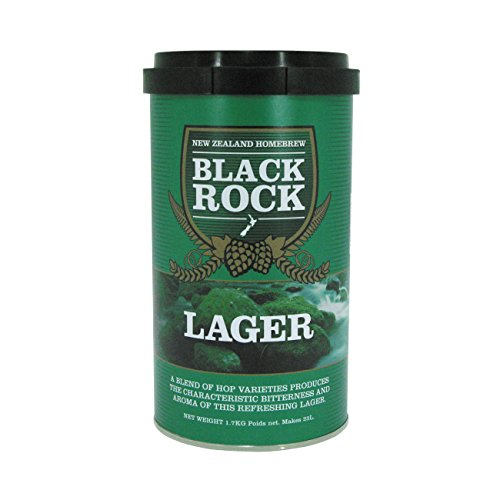 [Black Rock Lager - Hopped Malt Extract] (Hopped Extract)