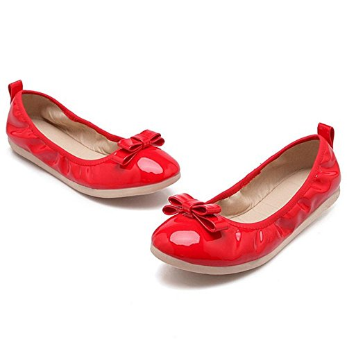 Coolcept Women Lovely Ballet Shoes Red-24 GmP81