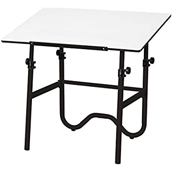 Alvin ONX42 3 Onyx Black Base With White 30 Inches X 42 Inches Top