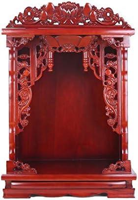 神聖 ウッド手は神社祭壇瞑想表仏像は瞑想、祈り、または観想研究用スタンド彫刻します。 LLCC (Size : B:16.5×20.5in)