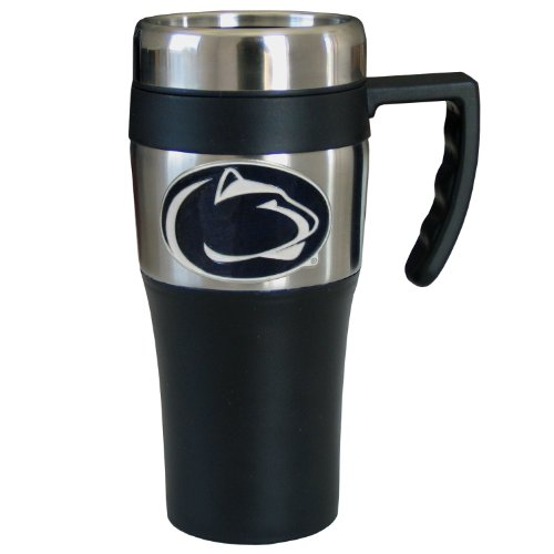 Penn State Coffee (College NCAA Penn St. Nittany Lions Steel Travel Mug with Handle)