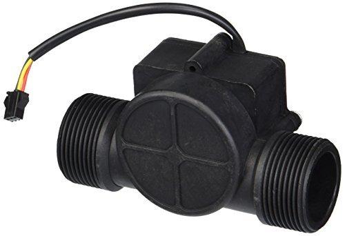 1-120L/min 2Mpa G1 1/4 Water Fluid Flow Hall Sensor Meter Flowmeter