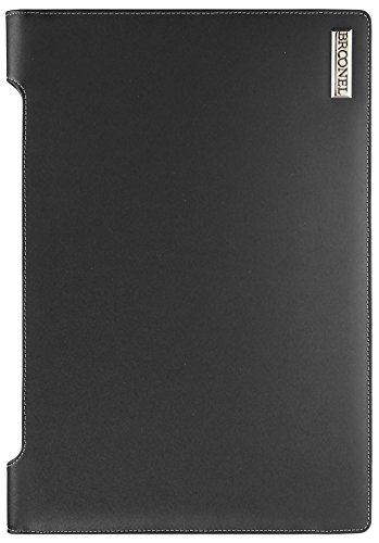 Broonel London - Profile Series - Black Vegan Leather Laptop Case Cover Sleeve For The ACER Aspire E15 E5-573 15.6'' / Acer Aspire E1-572 15.6-inch / Acer Aspire E5-553G-12AY / Acer Aspire E5-573 by Navitech (Image #3)