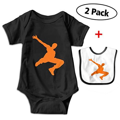 BenF Parkour Dancer Baby Onesie Outfits Bodysuit Romper for 0-24months ()