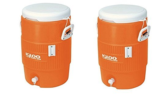 - Igloo 5 Gallon Seat Top Beverage Jug with spigot (Pack of 2)