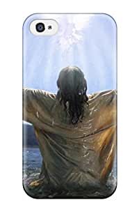BayyKck RTaoVWl3446sltrL Case For Iphone 4/4s With Nice Jesus Baptism Appearance