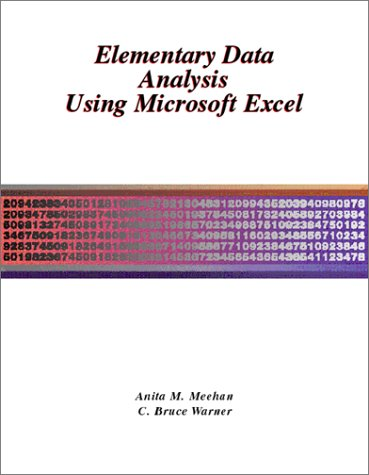 Elementary Data Analysis Using Microsoft Excel