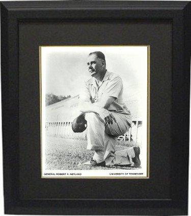 Rdb Holdings   Consulting Ctbl Bb20337 8 X 10 In  General Robert Neyland Tennessee Volunteers Vintage Bw Photo Frame44  Black   Black