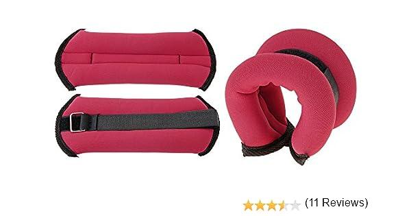 XQ Max Ankle/Wrist - Lastres de Tobillos, Color Fucsia, Talla 2 x 0.5 kg: Amazon.es: Deportes y aire libre