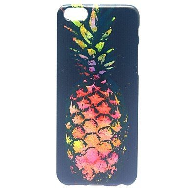 "For iPhone 6 Case, Fashion Pineapple Pattern Protective Hard Phone Cover Skin Case For iPhone 6 (4.7"") + Screen Protector"