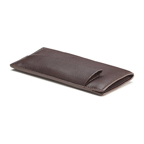 Chocolate Leather Pouch - 6