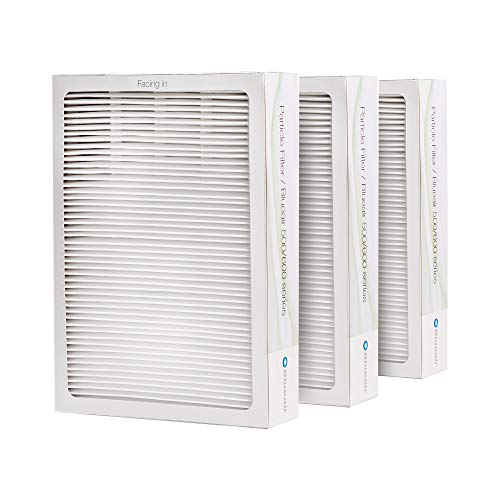 Blueair Classic Replacement Filter, 500/600 Series Genuine Particle Filter, Pollen, Dust, Removal 501, 503, 510, 550E, 555EB, 601, 603, 650E, 680i, 605 (Renewed)