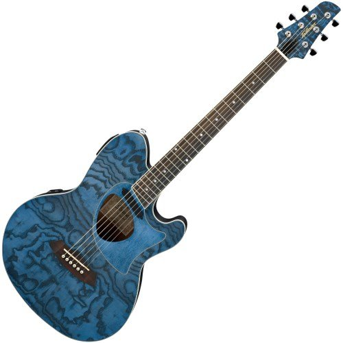 Ibanez Talman Series TCM50DNO Acoustic-Electric Guitar Dark Night ()