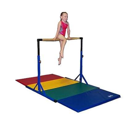 Team Sports Best Choice Gymnastics Pro Deluxe High Bar Blue Paint Mat