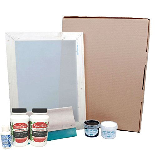 Hunt The Moon Screen Printing Kit with Photo Emulsion, Speedball, Medium -