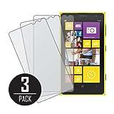 Nokia Lumia 1020 Screen Protector Cover, MPERO Collection 3 Pack of Matte Anti-Glare Screen Protectors for Nokia Lumia 1020