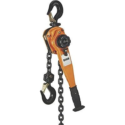 Bannon High-Performance Lever Hoist - 2200-Lb. Capacity, 5ft.Lift