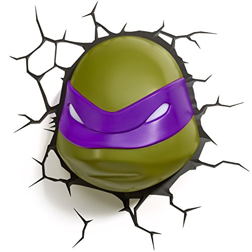 3DLightFX Nickelodeon TMNT Donatello 3D Deco Light