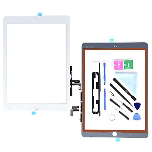 """Touch Screen Digitizer Glass Home Button for iPad 2017 5th 9.7/"""" A1822 A1823 USA"""