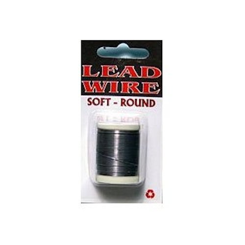 Lead Wire Soft Round Spool - .025 - Fly Tying