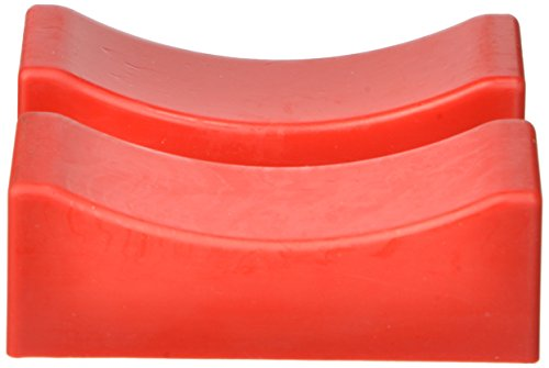 "Prothane 19-1412 Red Jack Stand Pads fits up to 1-1/4"" X 4-1/2"" Heads"