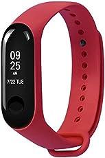 Longtis Reloj correa suave del reloj de la pulsera del reemplazo del silicón de Band-Sports para Xiao Mi Band 3