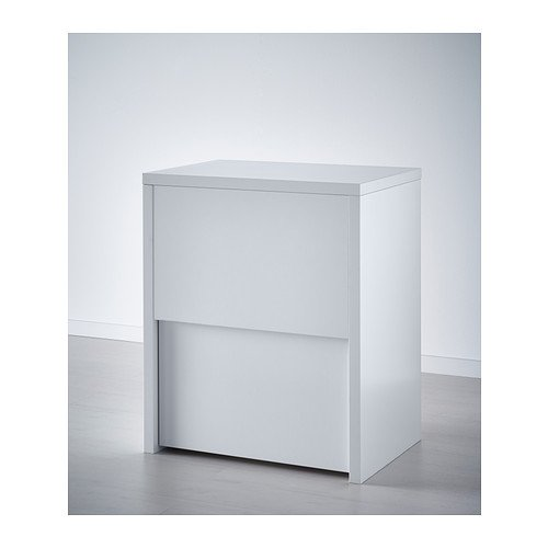 Ikea Micke Desk With Printer Storage White 61x50 Cm