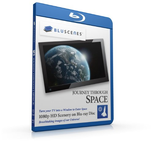 BluScenes: Journey Through Space 1080p HD Blu-ray Disc [Blu-ray]