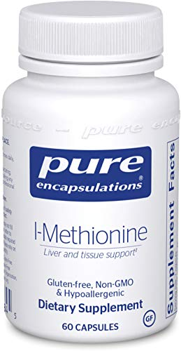 Pure Encapsulations - l-Methionine - Hypoallergenic Supplement Support for Liver and Pancreas* - 60 Capsules