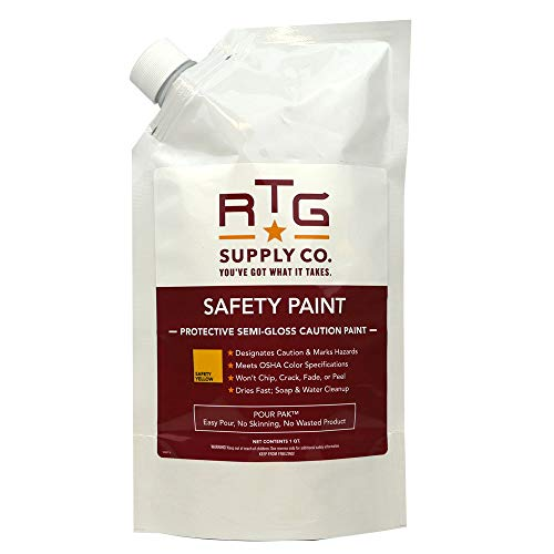RTG Safety Paint (Quart, Safety Yellow)