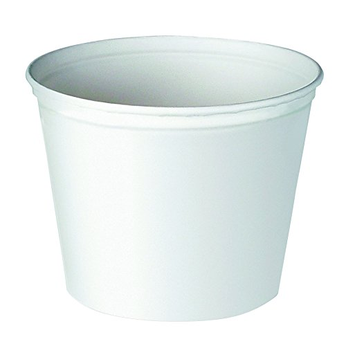 - Solo 10T3-N0199 165 oz Unprinted Paper Bucket (Case of 100)