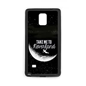 Samsung Galaxy Note 4 Cell Phone Case Black Peter Pan 007 Delicate gift AVS_535520