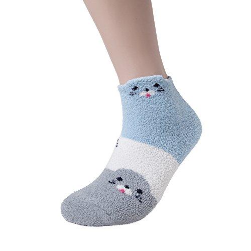 fuzzy thermal socks - 4