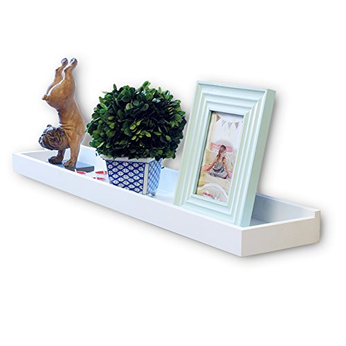 Modern Floating Wall Shelf Tray for Home and Office Decoration 31.5