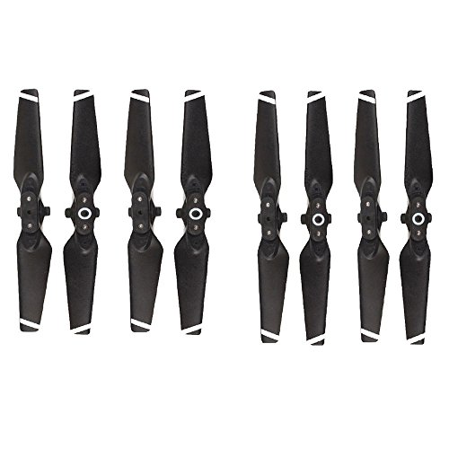 Elaco 8pcs Propellers for DJI Spark Drone Folding Blade 4730F Props RC Spare Parts(A1-8pcs)