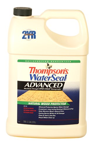 Thompsons Waterseal 11711 1-Gallon Thompson's Waterseal Advanced Natural Wood Protector Exterior Wood Protectors/Preservative by Thompson's Water Seal