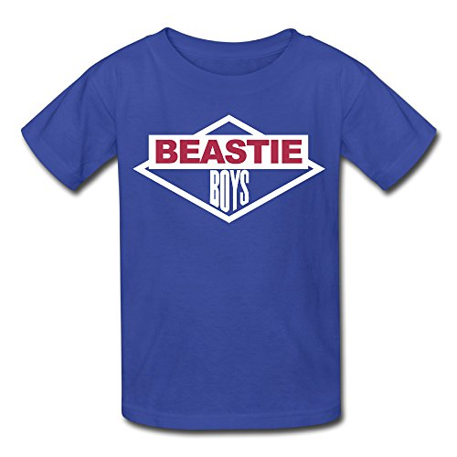 Kid's Beastie Boys Logo T-shirt Royal Blue