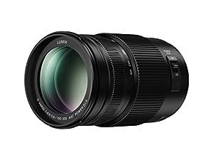 Panasonic LUMIX G VARIO Camera Lens, Mirrorless Micro Four Third Mount, POWER Optical I.S., 100-300mm, Black (H-FSA100300)
