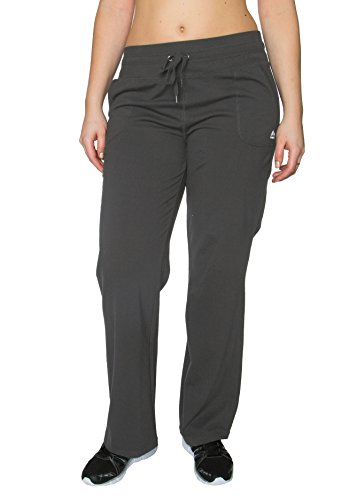 RBX Active Plus Size Full Length Relaxed Fit Athletic Pant w/ Drawstring Waistband, Charcoal Heather, 1X Plus (Pant Corduroy Plush)