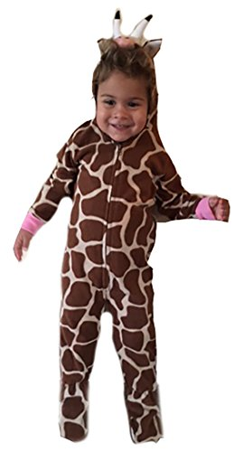 Just Love 6401-3T-Giraffe Jumpsuit for Kids/Pajamas
