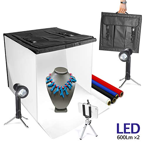 "LimoStudio 16"" x 16"" Table Top Photo Photography Studio Lighting Light Tent Kit in a Box, AGG349 from LimoStudio"