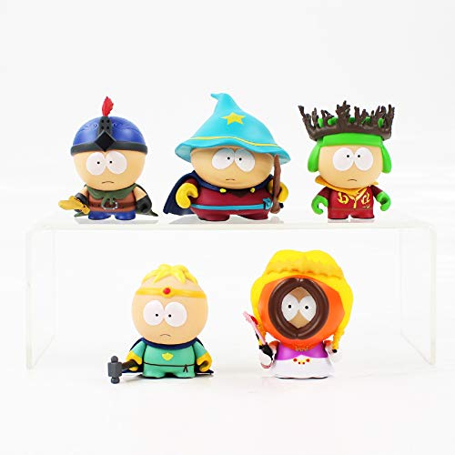 PAPWELL Set 5 South Park Toys 3.15 inch