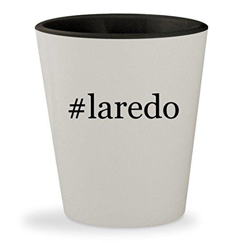 #laredo - Hashtag White Outer & Black Inner Ceramic 1.5oz