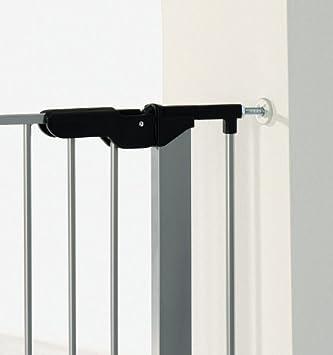 Kit de extensi/ón para barrera de seguridad de 13 cm blanco plata Baby Dan