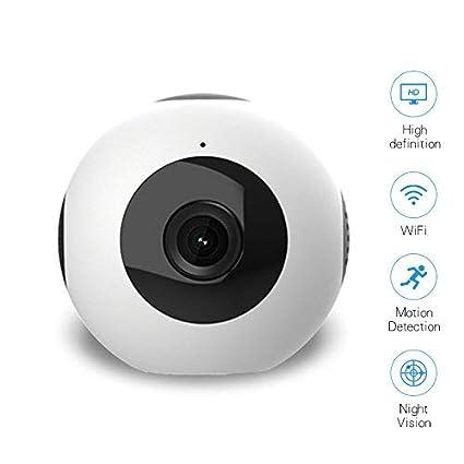 MiNi cámara espía WIFI 1280P cámara oculta sin hilos cámara del cuerpo grabadora de vídeo con detección de movimiento y visión nocturna para la seguridad, ...