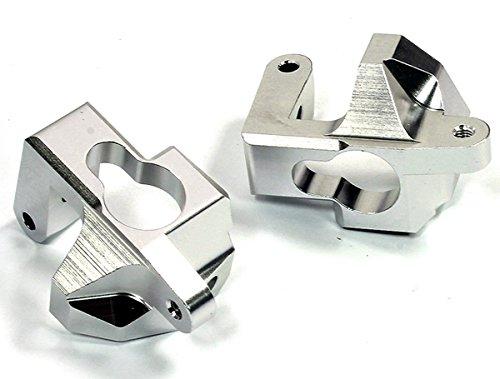 Integy RC Model Hop-ups T8688SILVER Billet Machined Caster Blocks for HPI Ken Block WR8 3.0