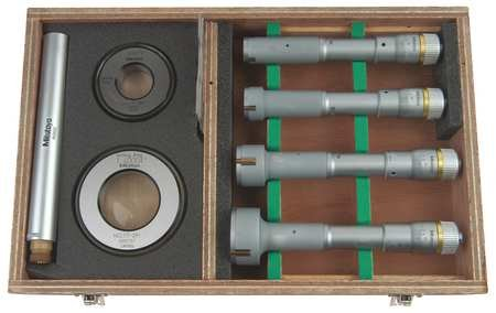 Bore Gage Set Holtest 0.8-2 in