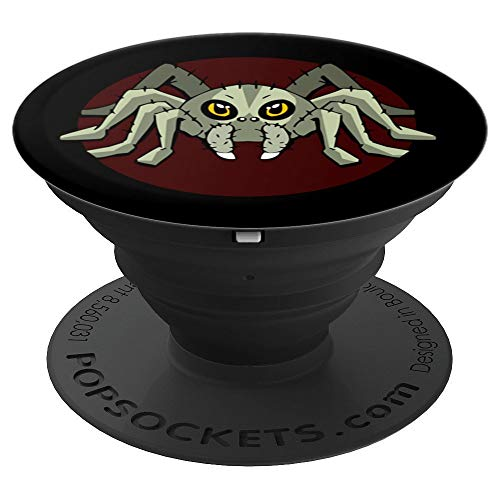 Tarantula Bird Spider Horror Gift Idea Comic Halloween - PopSockets Grip and Stand for Phones and Tablets for $<!--$11.99-->