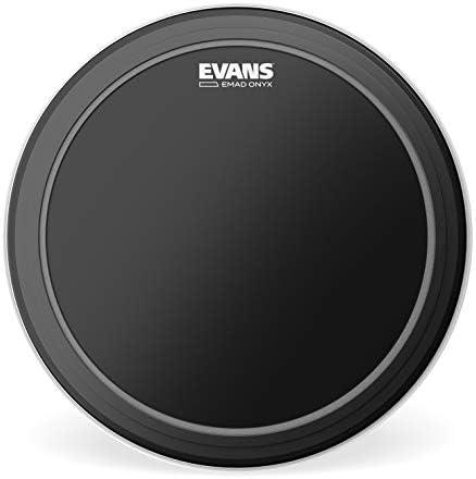 Evans BD22EMADONX Bassdrumfell Onyx mattschwarz 55,8 cm (22 Zoll)