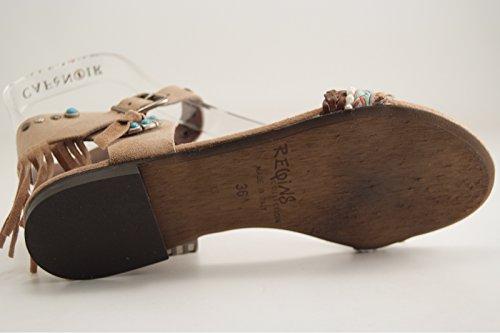 Reqins - Zapatos de vestir para mujer Natural